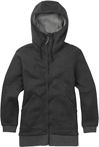 - Burton Women's Minxy Fleece Sweaters, True Black Heather, Small