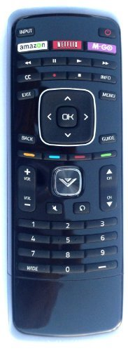 Beyution NEW Universal Remote XRV4TV for almost all Vizio brand LCD and LED TV E320I-A2 E320i-A0 E322AR E422AR E502AR E370VP E420VT E422VLE M320SL M370SL E422VLE E472VLE E552VLE E322AR
