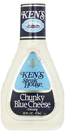 Salad Kens Dressing (Ken's Steak House Chunky Blue Cheese Dressing (2 Pack))