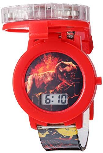 Jurassic Park Jurassic Park Kids JRW4007 Digital Display Quartz Black Watch