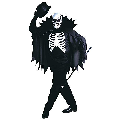 Mens Scary Skeleton Costume Small Uk 38/40