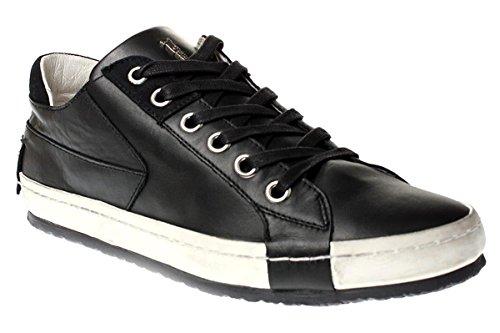 Crime London - Zapatillas de Piel para hombre Multicolor multicolor Multicolor - negro