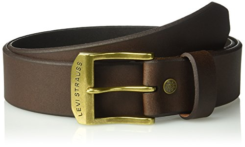 Levi's Men's 1 1/2 In. Bridle Belt, brown, 34