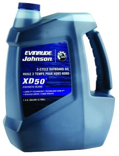 Evinrude Johnson 0764354 E-Tec XD 50 2-Cycle Outboard Motor Oil (2 Cycle Marine Oil)