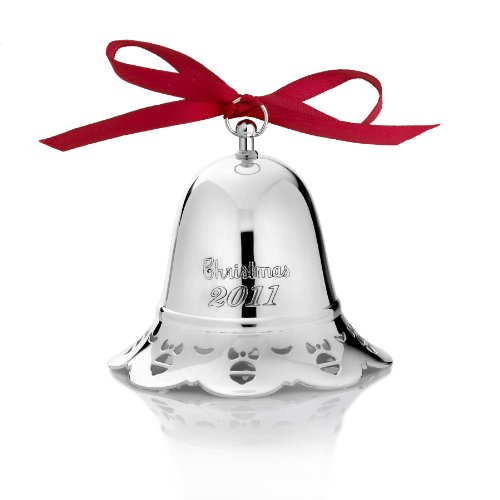 Towle 2011 Silver Plated Musical Pierced Bell Ornament, 31st Edition (Pierced Bell Ornament)