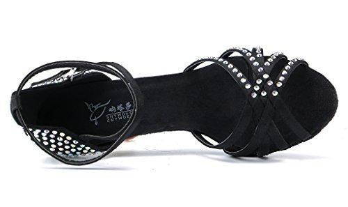 Satén Mujer Salón de De Black 02 MeijiliHW018 Meijili g7xBqCHZwW