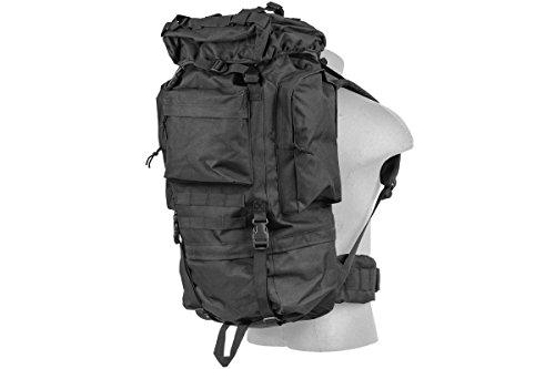 Lancer Tactical 600 Denier Polyester Lightweight Fabric Multi-Purpose Ruck Sack Waterproof Outdoor...