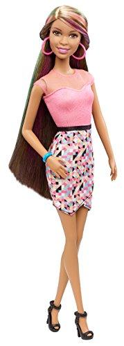 Barbie Rainbow Hair Nikki Doll (Hairtastic Barbie Dolls)