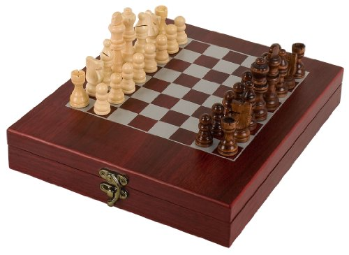 Rosewood Finish Chess Set (Ancient Chinese Chess)