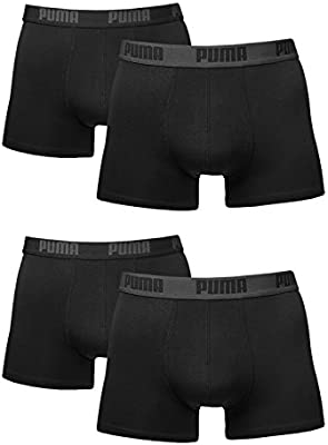 Puma Bodywear Basic Boxer 2P, Uomo, Black, M: Amazon.it