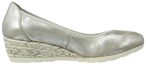 Zapatos plateado Softline para mujer erB1zR