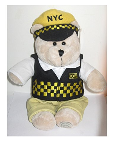 """Price comparison product image 2005 Starbucks Coffee Special Edition Bearista Bear NYC Taxi Cab Driver Joe 11"""""""