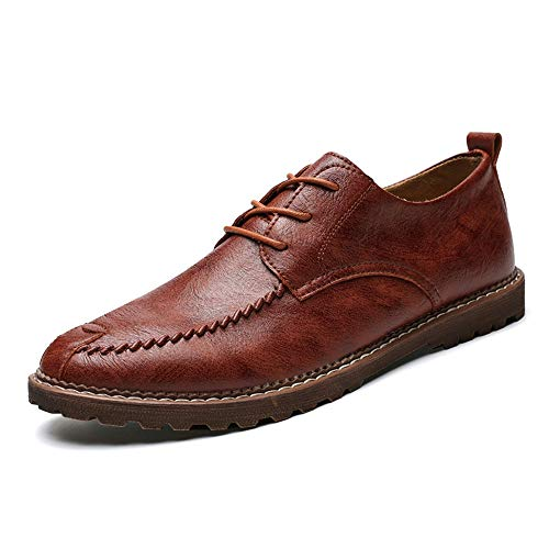 Primavera tondo Fang Light Brown Estate stile Warm Oxford Business EU Dimensione classico Casual 2018 nuovo shoes testa Men's caldo scarpe formale Color semplice opzionale 45 EqCwnxqR7f