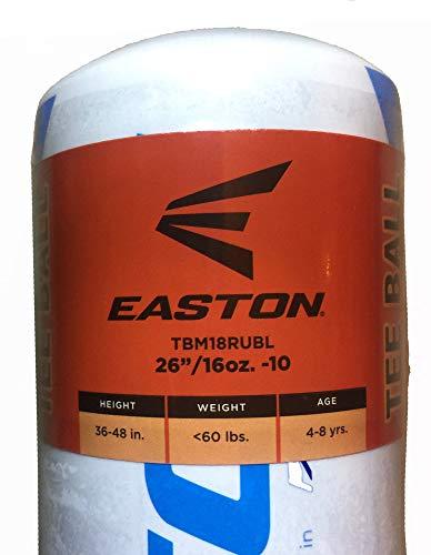 - Easton Rise Up T-Ball Bat USSSA Youth/Kids Aluminum Comfort Grip Tee Ball Baseball Softball Bat 26 Inch 16 Oz -10 (2 1/4