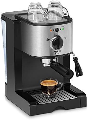 Rotel AG U 22.8CH1 Independiente Máquina espresso 1.25L Negro ...