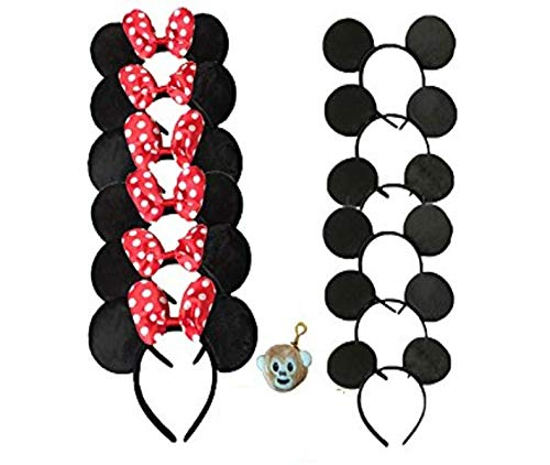 Evil Mickey Mouse Costumes - Family Pack Mickey Mouse Style Ears