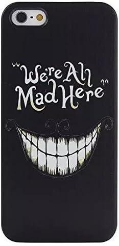 Cover iPhone 6 / 6s STREGATTO We're All Mad Here - Rigida - Nera ...