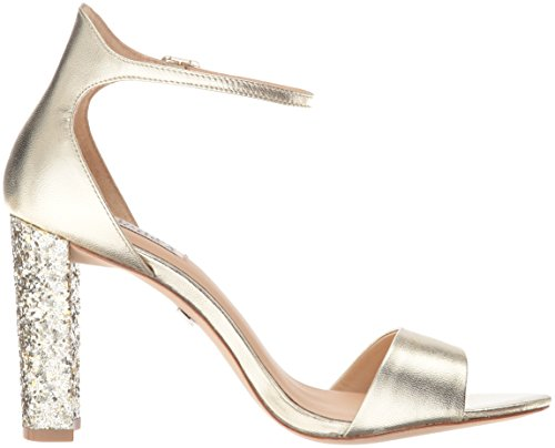 Badgley Mischka Women's Gwen Dress Sandal, Platino, 7.5 M US