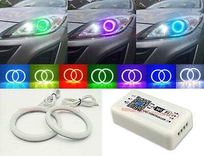 FidgetGear WiFi RGB para Mazda 3 Proyector 2010 – 2013 algodón LED ...