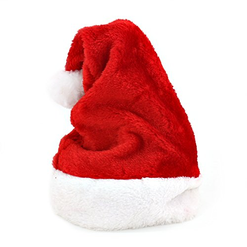 Santa Hat for Adults - Christmas Santa Clause Hat for Christmas Party Decorations (Adult Hats)