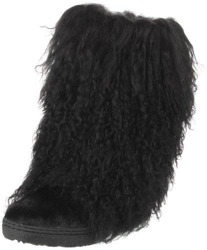 """BEARPAW Boetis II 11"""" Tall Women's Boots 1294W-001-BLACK Black 8 B(M) US from BEARPAW"""