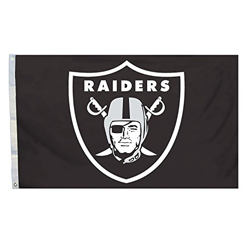 3x5 Football Sports Team Flags (Raiders)