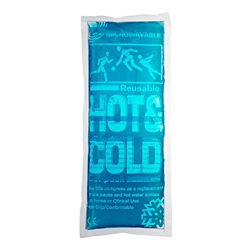 """Therapy Hot&Cold Gel Pack of 1 Reusable 5"""" X 11"""" by FORMAXCARE"""