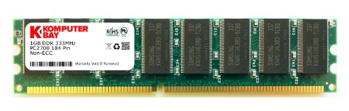 KOMPUTERBAY 1GB RAM Memory Upgrade for the Dell Dimension 2400 ( DDR-333, PC2700 ) 184Pin...