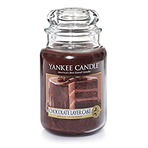Chocolate Cake Images With Candles : Amazon.com: Yankee Candle Company Chocolate Layer Cake ...