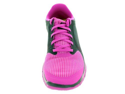 Nike libre 4.0 de las señoras de los zapatos corrientes rosa
