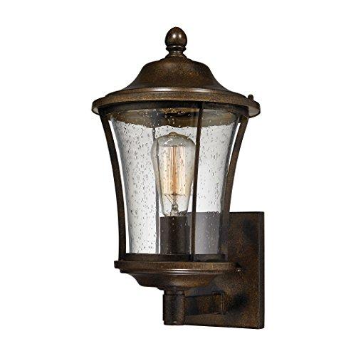 Alumbrada Collection Morganview 1 Light Outdoor Sconce In Hazelnut Bronze