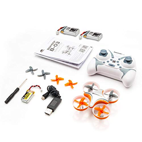 B03 Bolt Bee Mini Racing Drone RC Quadcopter Gyro High Speed Headless Mode Wind Resistance Includes Bonus Battery