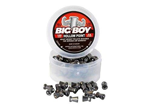 100 Grain Hollow Point (Skenco Big Boy, .22 Cal, 20.37 Grains, Hollowpoint, 100ct)