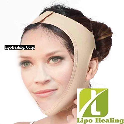 (Facial Compression Smooth Chin Strap With Medium Compression Support BY USA SHAPEWEAR, INC.)