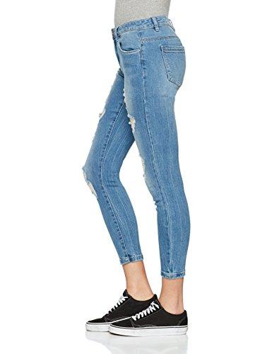 Blue Blue Medium Femme Jean Denim Denim Bleu Only Medium Skinny qAwXIq8