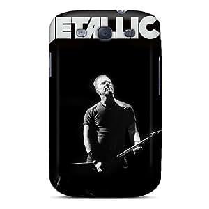 Perfect Hard Phone Case For Samsung Galaxy S3 (sZw13067pcZs) Custom Stylish Metallica Skin