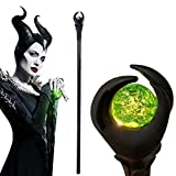 COSGO 51-inch Deluxe Maleficent Staff with Green