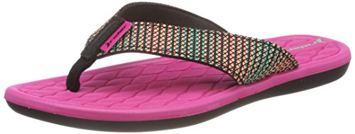 Fem Rider Chanclas Pink para V Mujer 8341 Black Multicolor Cloud nx76xE