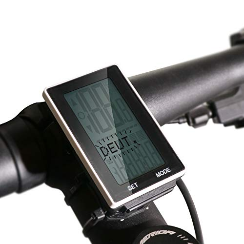 BLUERISE Cycling Computer Wireless Rainproof Multi-Function Bike Computer