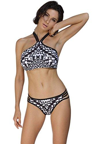 Elady Sexy Retro Bikini Top Multi Strap Hipster Bottom Sets Swimsuit Women Bathing Suit - Swim Best Skin For Triathlons