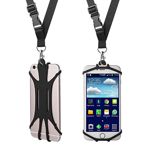 Cell Phone Lanyard Strap Case Universal Smartphone Holder Necklace Lanyard
