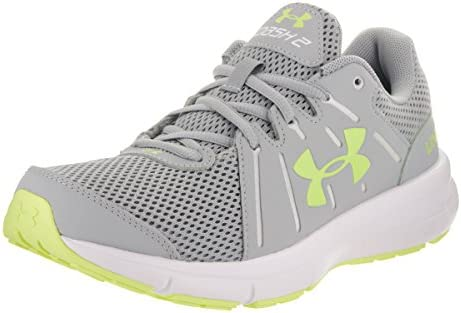 reputable site 665d9 1fd37 Under Armour Womens UA W Dash RN 2, Overcast Gray/White/Lime ...