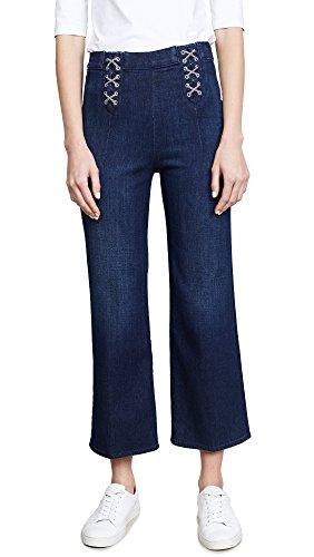 J Brand Women's Laced Joan Crop Jeans, Cult, 32