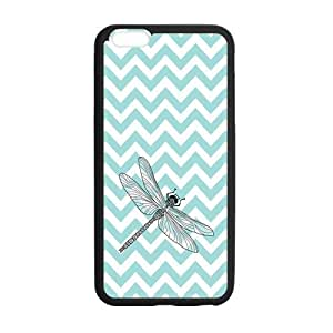 Art painting Dragonflies Dragonfly Custom Cover Case for iPhone6 Plus 5.5 (Laser Technology)