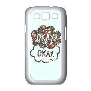 ANCASE Phone Case Okay Okay Hard Back Case Cover For Samsung Galaxy S3 I9300
