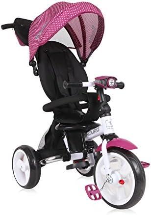 Lorelli 10050410009triciclo evolutivo para bebé/niño Enduro rosa
