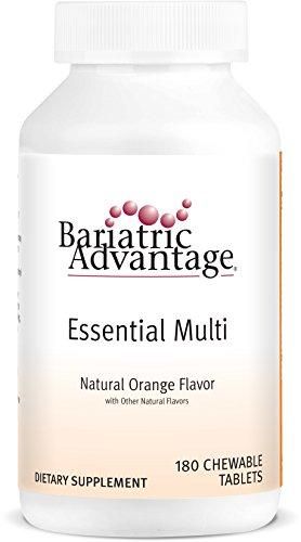Bariatric Advantage Complete Chewable Multivitamin - 180 Count, Orange