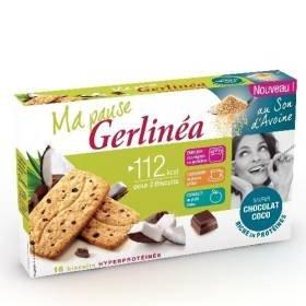 Gerlinéa p04276378 – biscuit oat bran chocolate coconut – 200g