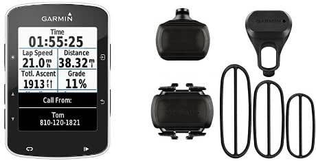 Garmin Edge 520 + Sensor de velocidad y sensor de cadencia para ...
