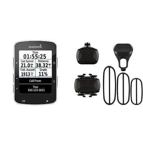Garmin Edge 520 + Sensor de velocidad y sensor de cadencia para bicicleta